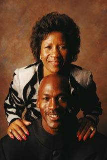 michael jordan mother doloris parents