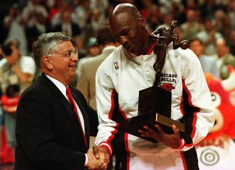 michael jordan nagroda trophy awards